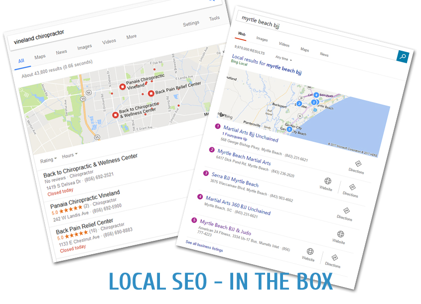 Google Places – Get in the Box